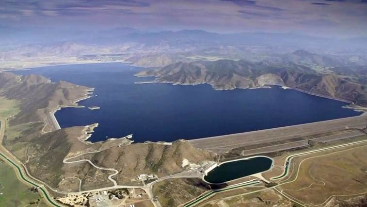 Aerial View of San Luis Resevoir