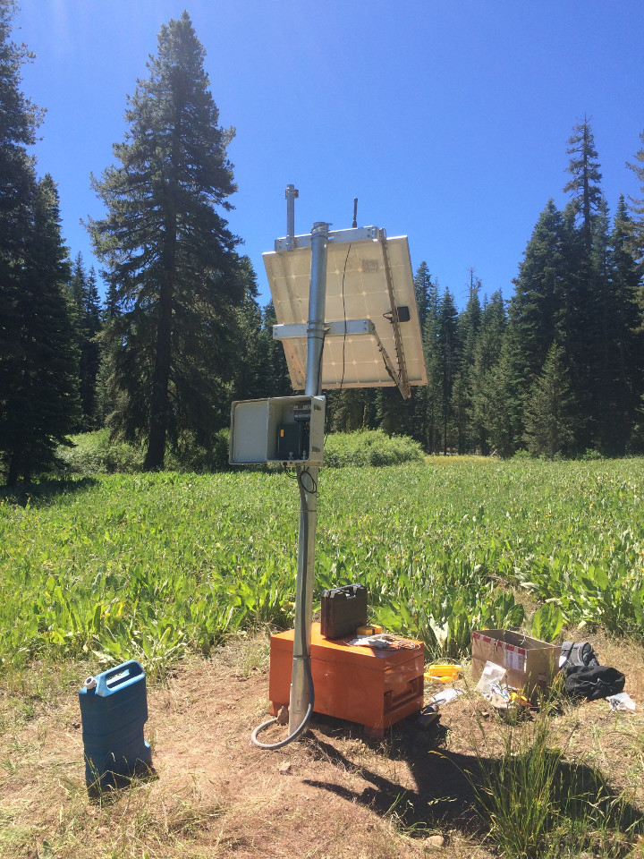 Installed Equipment for Snowpack Maesurements