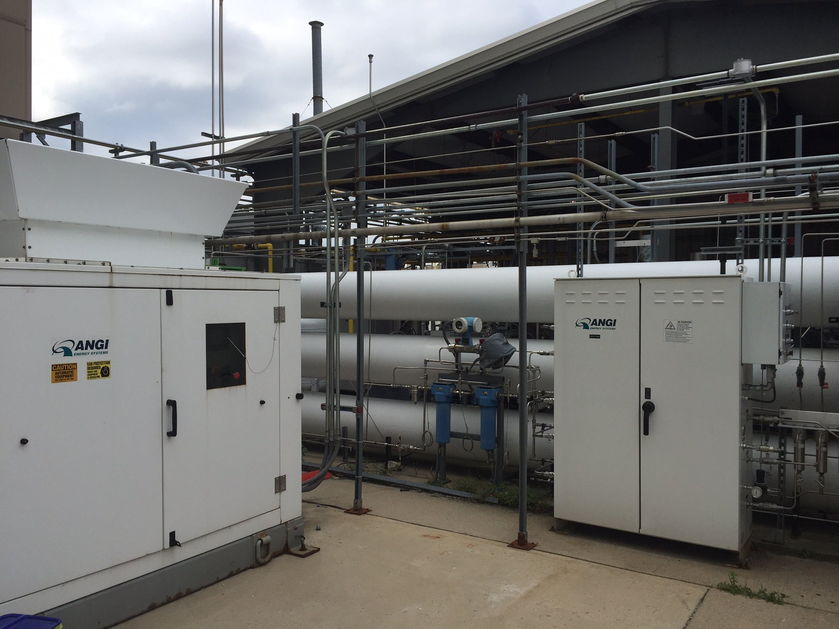 CNG Compressor and Station Storage Testing