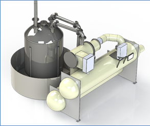 Modular heat capture system with sulfur and superheated water tanks