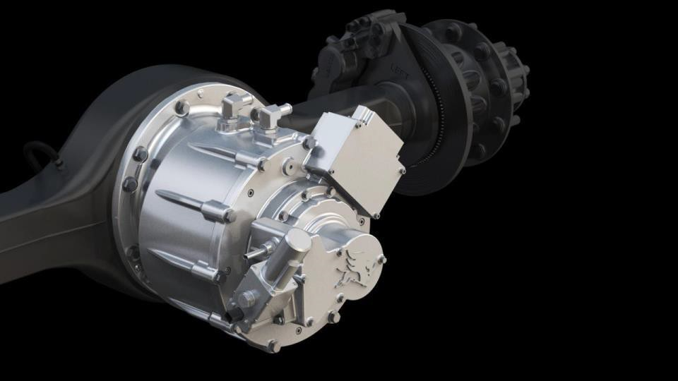 Innovative electric axle drive system