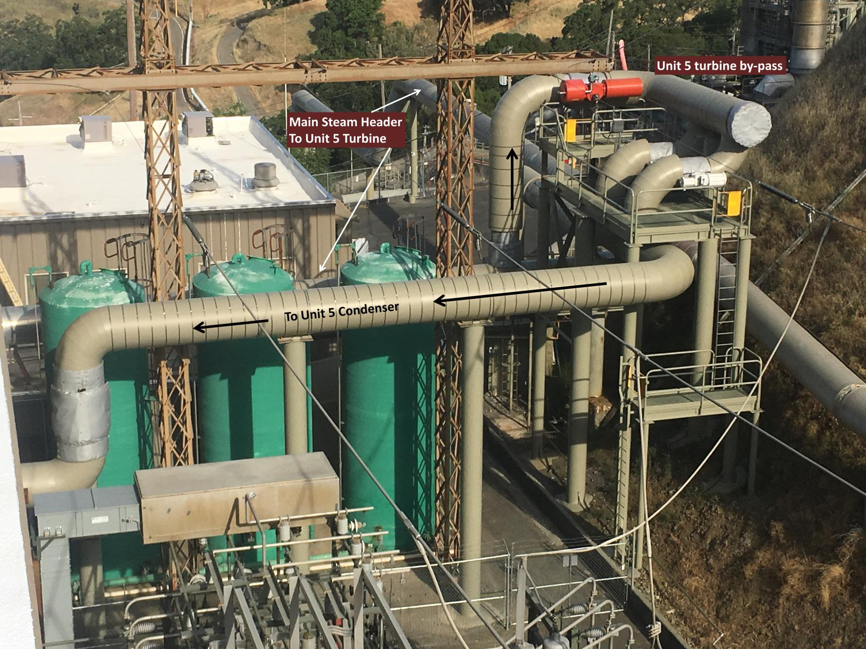 Calpine Corporation: U5 Turbine Bypass – Condenser Modifications and Piping