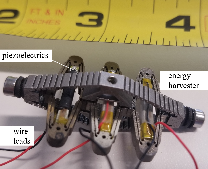 Multi-cell Piezoelectric Energy Harvester