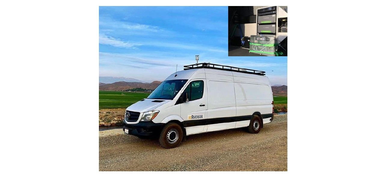 A Mobile Lab for Measuring Methane (CH4)
